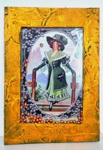 St Patrick's Day Trading Card ATC